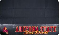 The Arizona State University Team Grill Mat by Mr. BBQ is the perfect way to show off your team Sun Devils pride while protecting your deck or patio from unsightly spills, splatters, and dirt. Univers