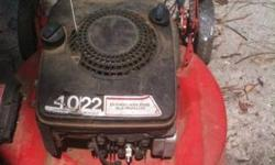 This is a MTD 4hp Clutch pull earlier model Lawn mower,Still works,but needs new pull string,needs minor tuneup,been sitting for awhile,gas was removed while stored,lightweight ,has 10 high rear wheel