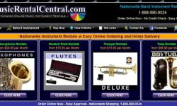 Music Instrument Rentals - School Year Specials - Free Shipping & & Free Month. MusicRentalCentral.com is your Online Instrument Rental. Nationwide Home Delivery - 888-890-0524. Browse our Selection M