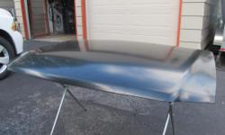 New primed aluminum 1997 ford F150 Hood any questions call 417-678-5408.