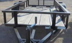 For sale is a nice, quality NEW 4x8 utility trailer by Cross. Single 3500 lb axle. GVWR 3500 lbs. ST205/75D15(C) new tires. Has a gate. Call Matt at  for more information!