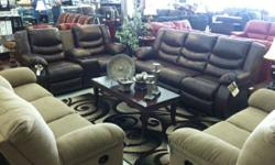 Brand new sofa and love all reclining seats for $1499  WHO: FURNITURE SUPERSTORE Albuquerque's biggest furniture mall! We have over 35,000 SF of Furniture, Mattresses and Designer goods all at truck l