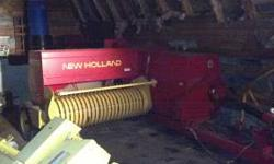 For sale is a 2000 New Holland 570 Kicker Baler with electric controls, hydrualic bale thrower, hydraulic bale tentioner, and wagon hitch. Asking $10,000, if interested please call 518-298-3564. Thank