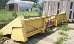 For Sale: New Holland 974 6 Row Wide Corn Head All Tin Good, Head is in very good condition, retiring, must sell 4000.00 or offer 515-290-9798 Location: STORY CITY, IA