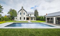 Location, lifestyle and luxe amenities define this stunning interpretation of Hamptons farmhouse chic designed by Modern Green Home. Finishing touches have just been completed on theapprox. 6,750-sq.f