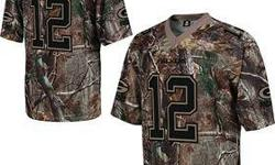 This is the newest Nike elite camouflage version of the Aaron Roders jersey. The jersey is brand new with tags and I have the sizes M L XL and XXL. Email or call or text 9two0-3one9-2six44 $75 Retail