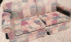 This is a full-sized sleeper couch by Lane furnishings in excellent condition. It was kept in a non-smoking home. The northwoods pattern is ideal for your cottage or cabin. Have a look at the matching