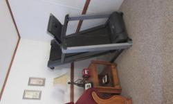 Great condition , incline,digital control ,fan blows while you walk, cup holder ,stands upright for storage ,retail new $1500.00 asking $350.00 , ask for Sharon (910 354-7203