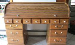 Rolltop Desk Used For Sale In Syracuse New York Classified