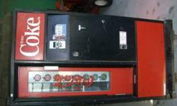 """Hello, I Have a OLD Coke Box, Made By """"Cavalier""""....Still runs, and Is In GREAT Cond. For its age. Minimal Dings, Paint is Nice, NON-Faded Box, Come get it Today!!! Call Mike 386-235-0756 Location: De"""