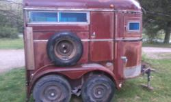 2 Horse Trailer Bumper Pull Se Indy For Sale In