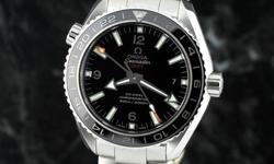 brand-new, unworn, under manufacturer's warranty OMEGA SEAMASTER Planet Ocean GMT 600m Co-Axial w/Ceramic bezel ref 232.30.44.22.01.001 ~ $8,100 retail CONDITION: Brand New, unworn, flawless inside an