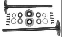 Have a new Model 20 One-Piece Axle Kit that enables you to upgrade your CJ from the weak factory two-piece design. This is a necessity when running larger tires. This kit includes all parts needed par