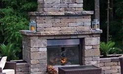 DO-IT-YOURSELF OUTDOOR FIREPLACE KIT DO IT YOURSELF AND SAVE $$$$ THOUSANDS $$$$$ Our kits are delivered to your home, on a flat bed truck and unloaded with a truck mounted fork lift. The Fireplace we
