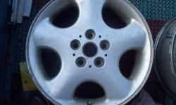 "IF YOU DO NOT KNOW IF THEY WILL FIT YOU 'RE CAR I DO NOT KNOW EITHER, ... ... ... FIRST THESE ARE WHAT I HAVE 1 15"" grand caravan steel wheel ... ... ... ... ... ... ... ... ... ...$25. 4-98 -02 honda"