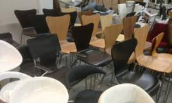 Having a Closeout Overstock Sale of furniture Items.. modern contemporary goods  all items are new eames style ribbed office chairs - $90 eames style soft pad office chairs - $100 mesh office chars -