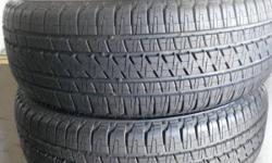 pair of made use of tires 255 55 20 BRIDGESTONE brand name for $90. tires possess a 90 day guarantee. cost-free balancing and installing. involved MARY ESTHER TIRE STORE 101w. miracle strip pkwy mary