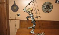 """I'm selling my Parker Frontier substance bow. It is ideal hand, 29"""" draw length and 70 # draw weight. (max's at 75lbs) I bought new as a leftover 8 months back and although I actually like this bow, I"""