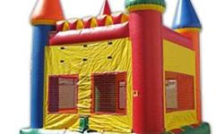 Party & Play Bounce House Rentals offers Bounce Houses, Soak & Wet Dunking Booth, Concession Items, Bubble Machine, & Generators. 13X13 Commercial Grade Bounce House/5 Hours/$120 15X15 Commercial Grad
