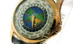 "ONE OF THE RAREST DISCONTINUED 5131J-001 WORLD TIME ""MAP"" CLOISONNE DIAL It is a debut that was a delight for many people for many different reasons. Its mechanism for the permanent display of all 24"