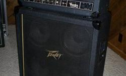 Selling a super clean mid 80's Peavey butcher head with matching original 4x12, 400 for the head and matching original empty(unloaded cab) or 550 for the head with the cab loaded with Celestion G12K85