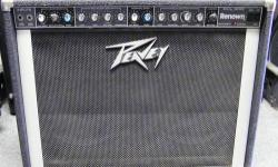 """Peavey Renown Solo Series 2 x 12"""" Guitar Amp $299 Rainbow Music & World Famous Recording Studio 2322 South 64th Avenue, Omaha 402-554-0123 Stop in and check out our Huge collection of New, Used and Vi"""