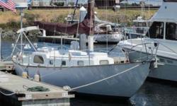 "1959 Phil Rhodes Bounty II Sloop 40'10"". Constructed by Aero Marine Plastics in Sausalito, California. Hull # 22. Bounty II Sloop. Rigging 7/8 Sloop. Hull: complete keel. Length - LOA: 40'9"". LWL: 28"