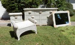 Wicker twin headboards pier one for sale in hereford - Pier one white wicker bedroom furniture ...