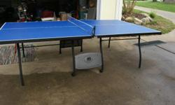 nice ping pong table with paddles and glow in the dark balls, $75.00 Also 2 in one air Hockey and pool table, everything included, $125.00