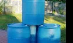 55 gallon olastic drums for sale... clean and ready for rain barrels.. call or text me if interested at 215-783-4034 // //]]> Location: SELLERSVILLE