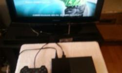 I have a Playtation 2 game system, with 1 game, 2 ( 8md memory card,) and a remote control(see picture below) The system works great(see picture below) and so does the memory card, and remote control. includes all cables. Game: Tiger Woods 2009