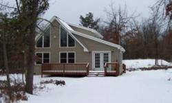 THE SNOW HAS ARRIVED IN THE POCONOS AND THE SKI SLOPES ARE OPEN Come enjoy this Lovely 2 bedroom plus sleeping loft & 2 baths features cathedral ceilings, stone (wood burning) fireplace, modern fully
