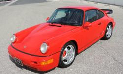 1993 Porsche 964 RS America The RS America is a lightened, limited edition, performance version of the venerable Porsche 911 Carrera made for the 1993 model year which according to Porsche both commem