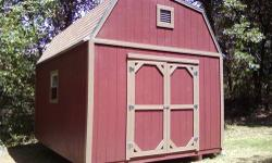 Are you looking for a pavilion, lofting shed, tack room, office, hunting cabin, beauty shop, garage, pole barn, concrete, or shed? We have a wide selection of sizes, colors and options. We custom buil
