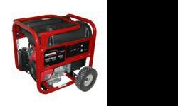 -5000 Running Watts 6250 Maximum Watts-10 HP Subaru OHV/OHC gas engine-6 gallon fuel tank runs up to 11 hours @ 50% load-control panel includes (2) 120V outlets, (1) 120/240 twistlock --outlet, and ci