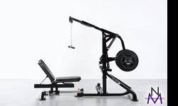 The LeverGym? Advantage: Lever Arms drive the exercises. Weight plates are loaded directly onto the lever which simply replaces and provides the natural feel and resistance of free weight with the saf