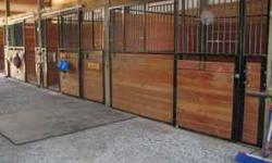 B-K Ranch, a private horse boarding facility, has two stalls open. The ultimate in horse care and horse satisfaction - it's all about the horse at our facility! Full or self care board available. Amen