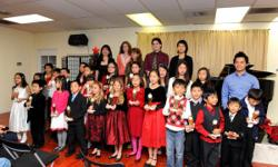 OC Music Conservatory offers  private music class in piano, violin, guitar, voice, drums, saxophone, flute for all ages and levels. Also, we have Music for young children group class on Sat morning 10