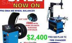 Clark Heintz Tools & Equipment LLC Runs Special Offer on their Tire Changers + Wheel Balancers. Purchase a PRO 890A WB Wheel Balancer and a PRO 920A Plus TC Tire Changer together & receive a discount