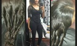You call it sew in day $80 !!!!!!! Today !!!!!! Vixen stitch in consisting of cut and style $140. Relaxer, shampoo, deep state, and design $55. Hair shampoo, state, cut, keratin instilled smoothing ir