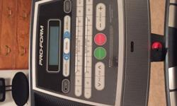 Treadmill for sale rarely used excellent condition 250.00 or best offer. Text me if interested 704-451-2331