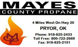 At Mayes County Propane, you will receive full-service energy solutions at a cost you can afford. We will ensure that every delivery is completed to the highest safety standards, and on time. Providin