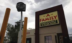 A-Family Discount Storage 4320 W INA RD    A-Family Discount Storage 4320 W Ina Road Tucson, AZ 85741  https://www.facebook.com/ina.afamily  Located West of Old Father  (520) 572-9677  Hours of Operation Monday - Saturday: 8:00am to 5:00pm Sunday: 9:00am