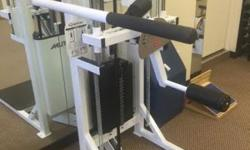 Quantum Multi-Hip Machine with Range Finding Mechanism Commercial.Excellent condition, like new. Quantum Multi-Hip Machine with Range Finding Mechanism Unique assisted pivot point adjustment eliminate