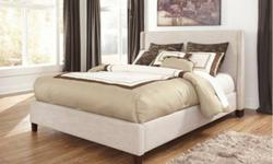 Pick up in Brookfield.$350Sleek contemporary low profile design fully upholstered in a rich woven fabric, the Upholstered bed collection offers a variety of looks that will comfortably fit into any be