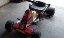 """FX 0r Pro-X Mower for sale After market front end,disc brakes,11/4 rear axle,6"""" wheels,6 qt fuel tank,kill switch,set up for B&S 5hp,6.5 honda or clone or honda gx390.Very light weight & handles like"""