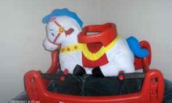 Bouncy horse for ages 6-36 months.Great condition.Bought new @ Babies r us for $100.00.Sell for $40.00.Pls call 828-396-4596 Location: Sawmills,nc