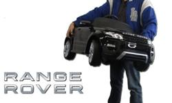 Range Rover Black Electric Ride-On Toy Sports Car Now in stock and going really fast! Childrens Electric Toy Car with Parental remote control and MP3 music player 6v Parental remote control Regular pr