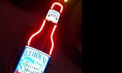 This rare 4 color Icehouse motion neon sign is a great piece to add to your decor in your man cave. Local piece of Omaha americana is up for sale, this neon sign used to hang in the Underwood bar in O