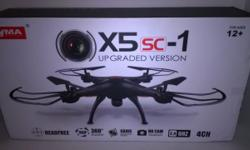 RC Drone with 2.0 MP HD Camera 2.4 4CH 6 Axis Quadcopter Have a blast playing with this RC Drone! $75.00 Contact Kristin at (580)940-0174 or email me at [email removed] You may also purchase online at